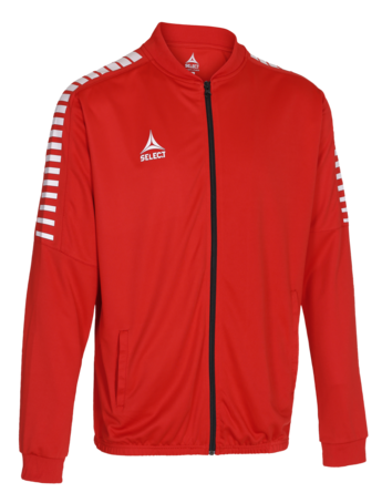 Argentina zip jacket - Rouge