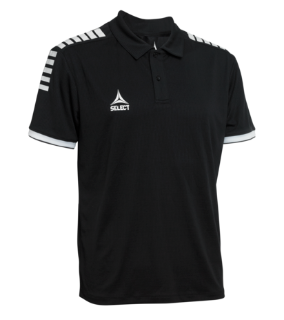Monaco Technical Polo i sort fra SELECT