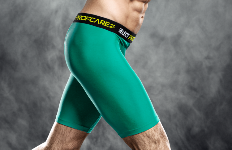 6402 Compression Shorts - Green