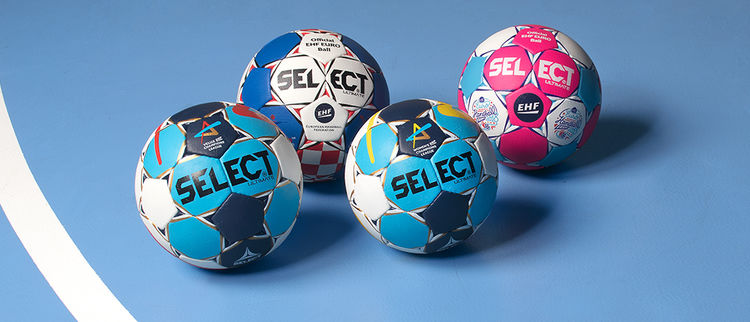 Handballs in the Pro series from Select
