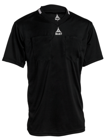 Referee shirt S/S v21 - black/black