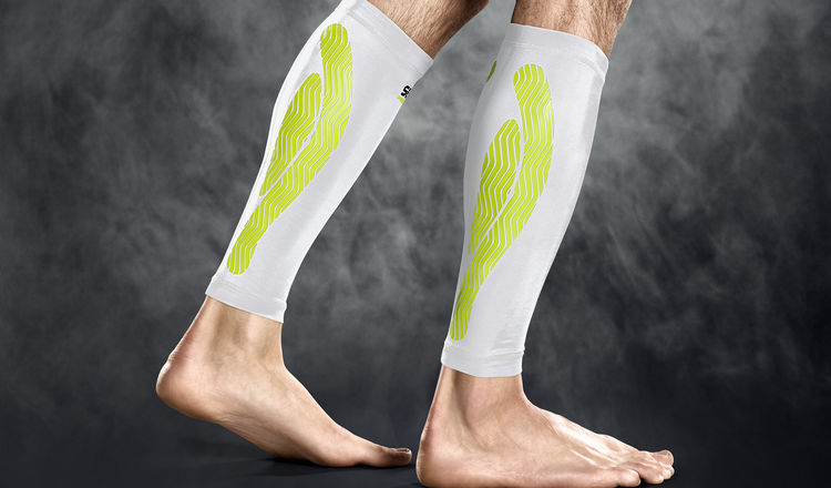 6150 Compression Calf - white