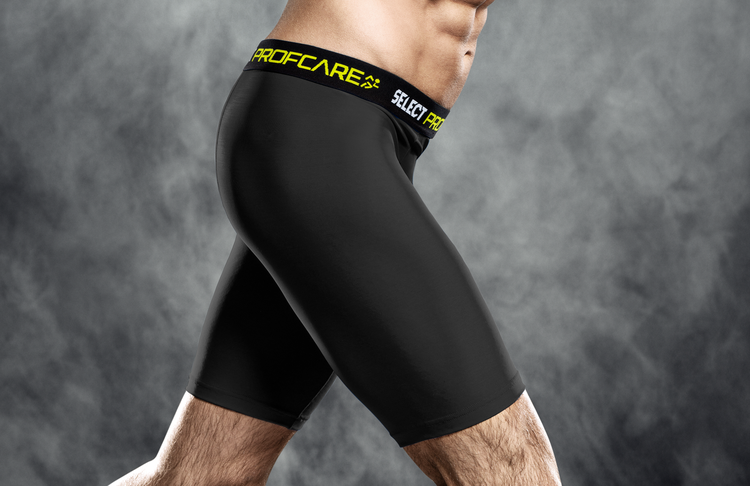 6402 Compression Shorts - Black
